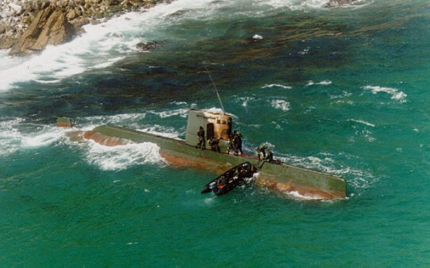 Sang-o class North Korean submarine in 1996