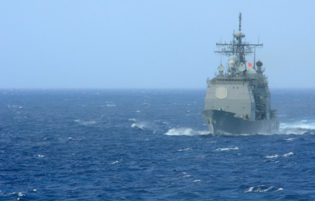 USS Chancellorsville (CG-62) in 2010. The ship was the first to be upgraded to Baseline 9. US Navy Photo