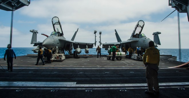 Senate Armed Services Committee Bill Backs Growlers, Carrier Refueling