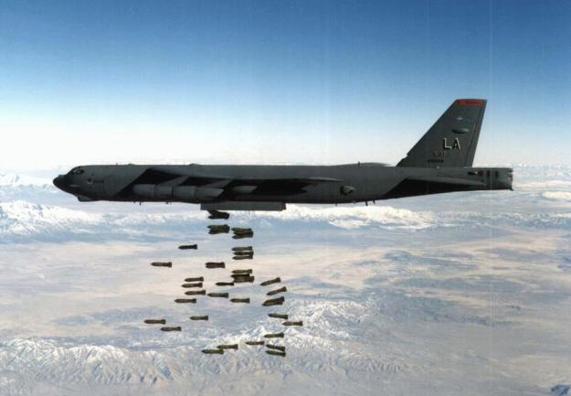 B-52 bomber. US Air Force Photo