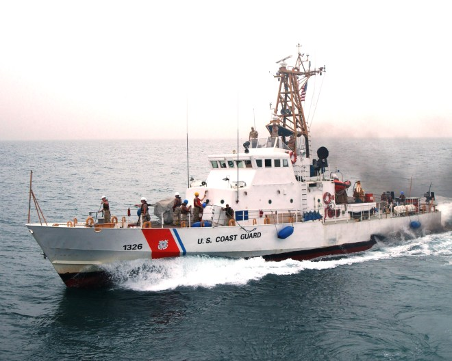 Coast Guard Fires Single Warning Shot at Iranian Dhow