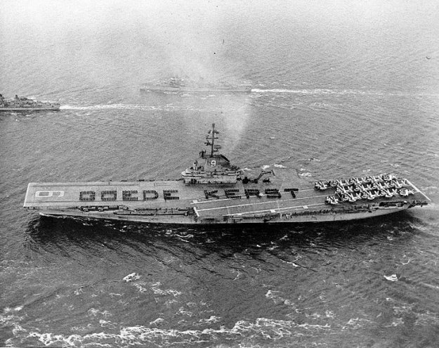 USS Essex (CV-9). US Navy Photo