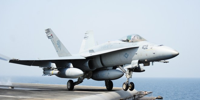 U.S. Navy Strikes ISIS Targets in Iraq