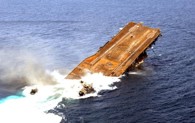 Sunk, Scrapped or Saved: The Fate of America's Aircraft Carriers