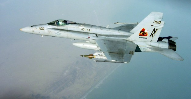 "F/A-18C Hornet assigned to the ""Stingers"" of Strike Fighter Squadron (VFA-113) in 2009. US Navy Photo"