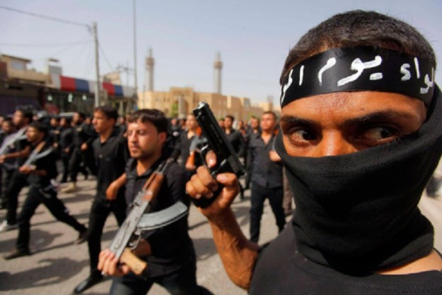 ISIS fighters in Iraq. Reuters Photo