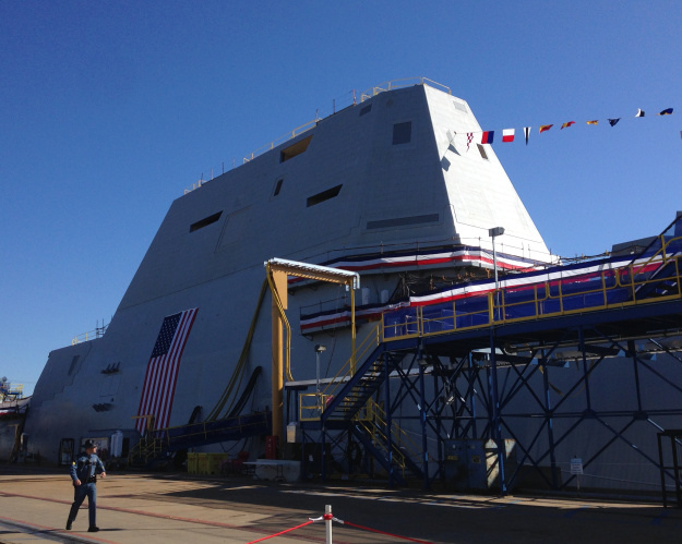 Navy Lights Off Zumwalt Generators