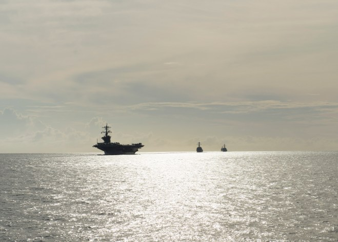 Carl Vinson Strike Group Enters U.S. 5th Fleet