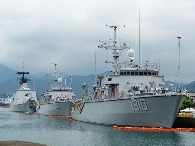 Taiwan to Build Six New MCM Ships with U.S. and Italian Help, China Displeased