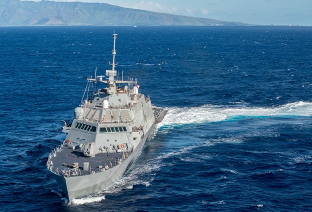 USS Fort Worth LCS Chops to 7th Fleet