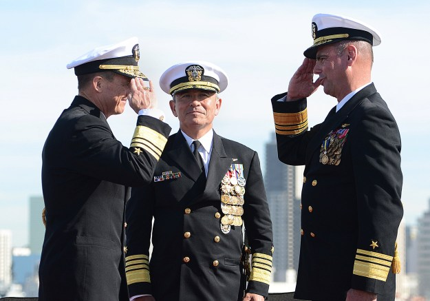 New Navy Air Boss Takes Charge