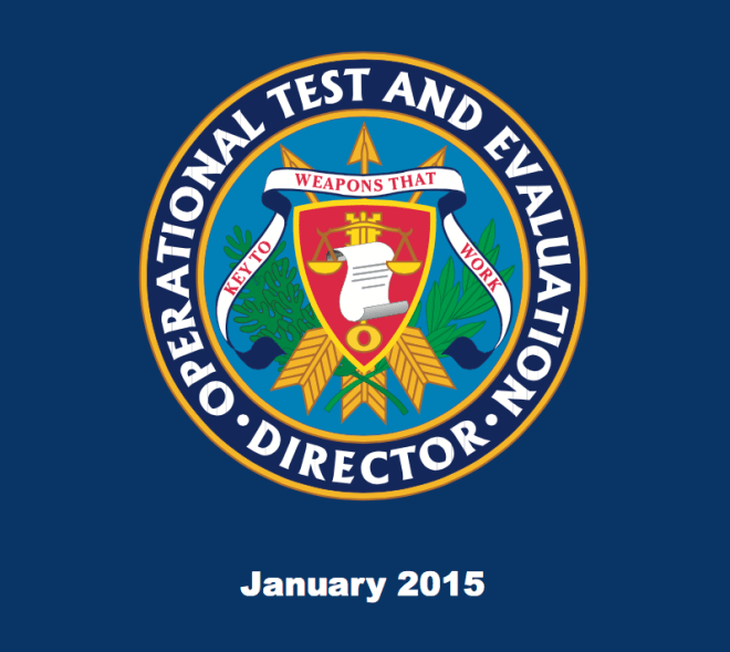Document: Pentagon's Director, Operational Test & Evaluation 2014 Annual Report