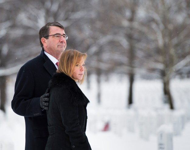Document: SECDEF Carter's Welcome Message to Pentagon