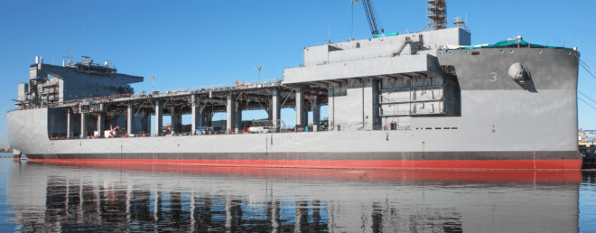 Navy to Christen Afloat Forward Staging Base Puller on Saturday