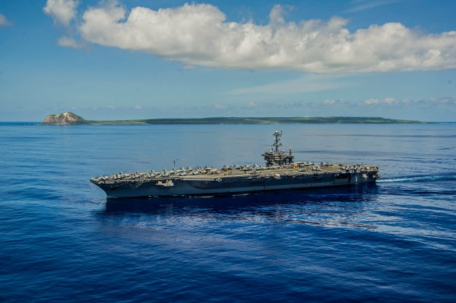 HII Receives Advanced Procurement Award for CVN Washington Refueling and Overhaul