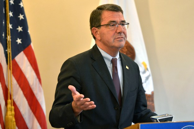 Ashton B. Carter in 2013. Department of Defense Photo
