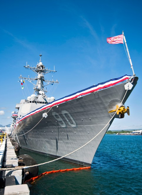 Navy Again Reduces Scope of Destroyer Modernization, 5 Ships Won't Receive Any Ballistic Missile Defense Upgrades