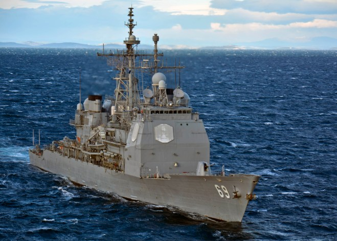 Mabus: Navy Would Sign Contracts Now if Congress Allows Cruiser Phased Modernization