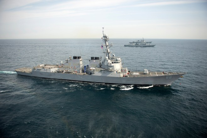 HASC Mark Adds $120 Million for 3 Destroyer Combat System Upgrades, Money for Missiles