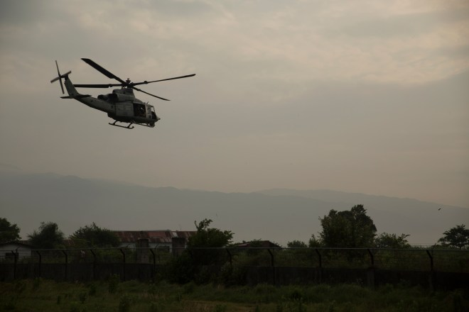 Marine Helicopter Still Missing; Extensive Search Includes Hueys, Ospreys, Nepalese Battalion