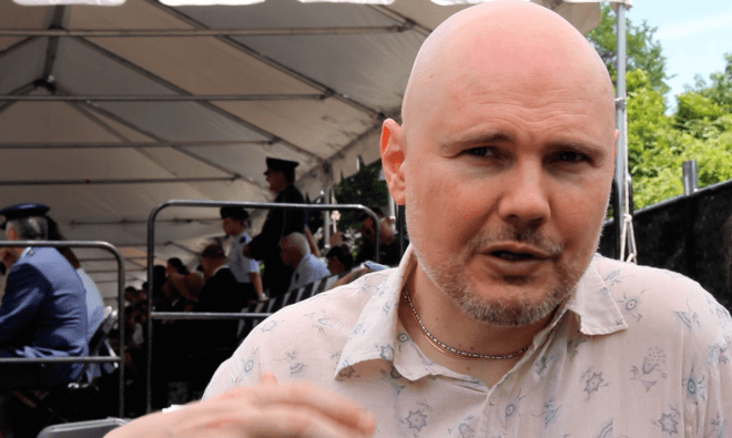 VIDEO: The Smashing Pumpkins' Billy Corgan Plays D.C. Memorial Day Parade, Talks Veterans Issues