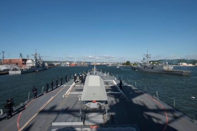 U.S. 6th Fleet Commander: Russia 'Showing Interest' As BALTOPS Exercise Begins