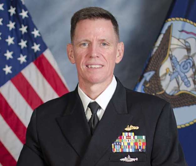 Rear Adm. Richard Breckenridge. US Navy Photo