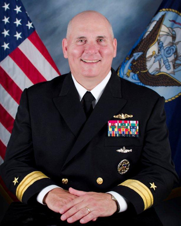 Rear Adm. Michael Jabaley, commander of the Naval Undersea Warfare Center, will serve as the next program executive officer for submarines. US Navy photo.