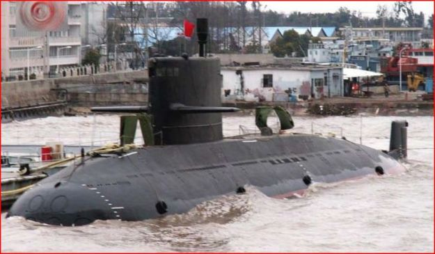 2010 photo of a Type-39A Yuan-class submarine. CRS Photo