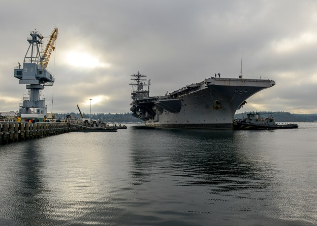 Admirals: Fleet Readiness Plan Could Leave Carrier Gaps, Overwhelm Shipyards