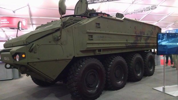 General Dynamics' offering for ACV 1.1. USNI News photo.