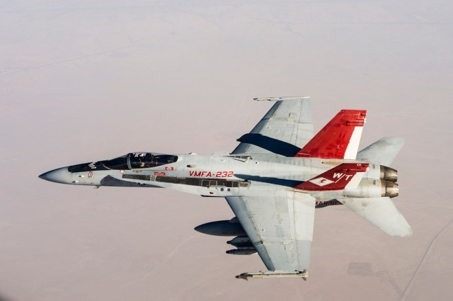 UPDATED: U.S. Marine Corps F/A-18 Hornet Pilot Killed In Crash In England