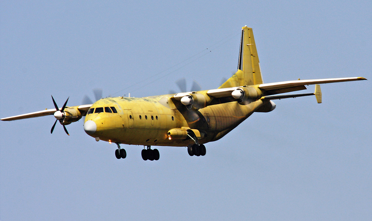 Chinese Shaanxi Y-9 Transport Aircraft