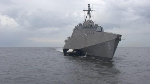 Littoral Combat Ship USS Jackson (LCS-6). Austal USA Photo