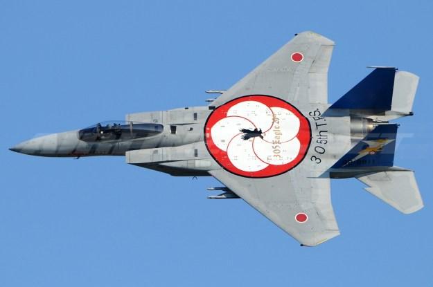 Mitsubishi F-15J. Photo by Toshi Aoki via Wikipedia