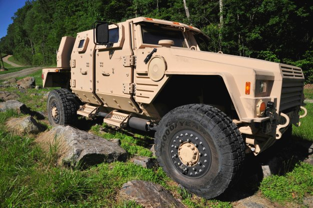 Lockheed Martin's entrant in the Joint Light Tactical Vehicle competition.