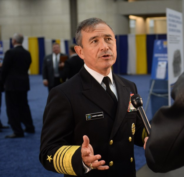 Adm. Harry B. Harris, commander of U.S. Pacific Fleet in 2014. US Navy Photo