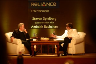 Future of cinema, Big B's talking point with Spielberg