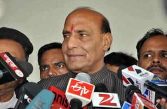 Rajnath Singh leaves for flood-stricken Assam