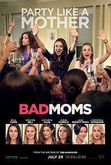 An American comedy film 'Bad Moms' to release in India on July 29