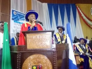 GIST: 2Face Idibia Receives Honorary Degree At Igbinedion University..