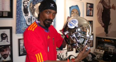 Snoop Dogg has come scrutiny for promoting a new line of alcohol beverage./PRNewsFoto/PRNewswire