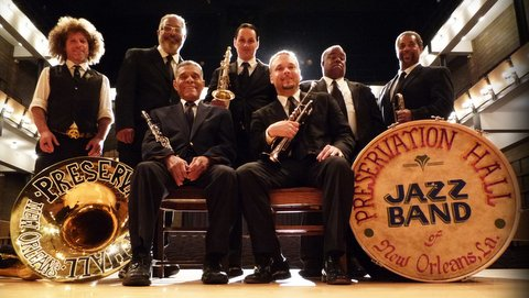 The Preservation Hall Jazz Band will bring their New Orleans-flavored jazz sound to this year's Playboy Jazz Festival.