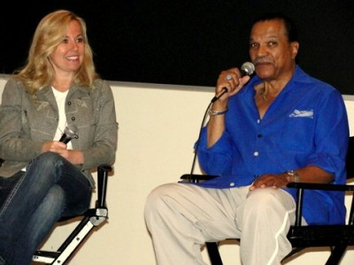 Acting icon Billy Dee Williams at Pop Con LA. Photo: Dennis J. Freeman