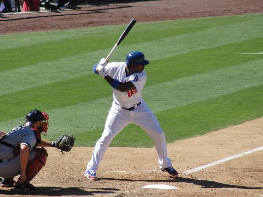 The Dodgers are going to be counting on the bat of Yasiel Puig this postseason. Photo: News4usonline.com