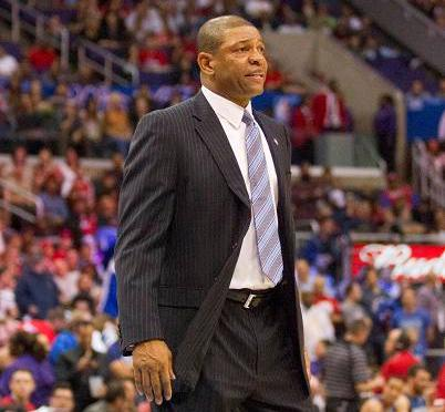 Los Angeles Clippers coach Doc  Rivers is hoping to get his team back on the right track after addressing the Donald Sterling controversy in a released statement. Photo Credit: Jevone Moore/News4usonline.com