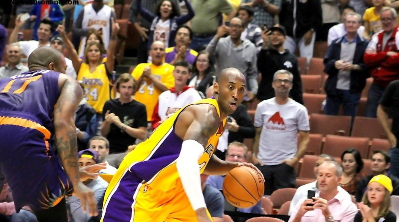 Kobe Bryant will lead a young group of players for the Los Angeles Lakers this season. Photo Credit: Dennis J. Freeman/News4usonline.com