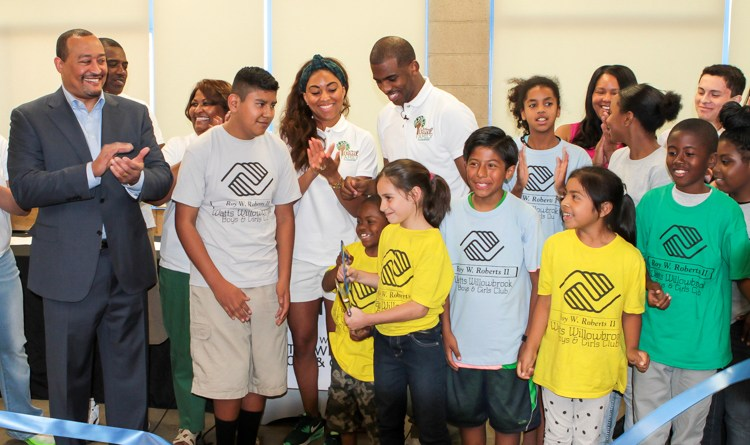 Chris Paul Family Foundation & Watts Willowbrook Boys & Girls Club