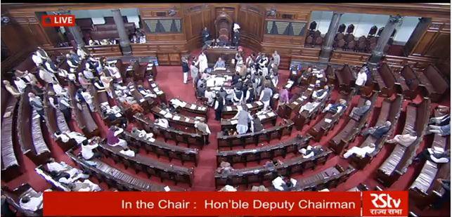 Parliament Live: Opposition raises Nagrota attack, PM Modi present in Lok Sabha