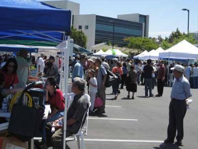 New Santa Ana Free Central County Health Expo In Garden